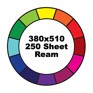 500 Sheet Ream 380x510mm Reams Prism Cover Paper