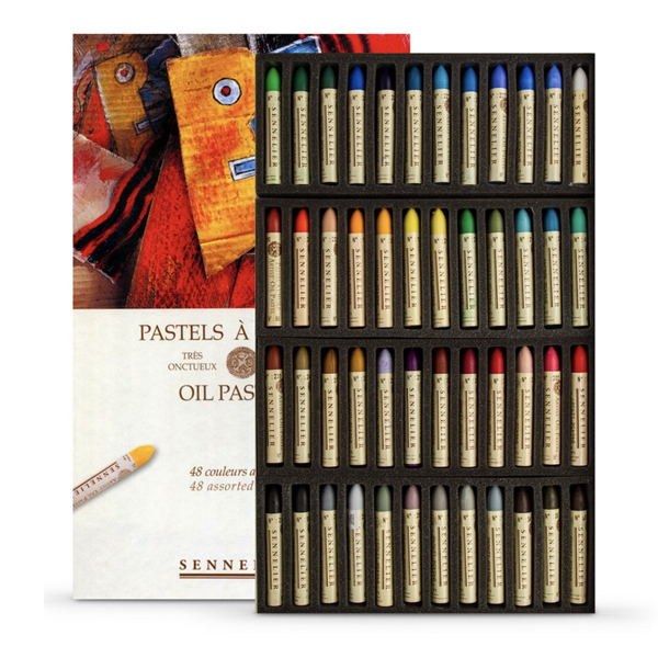 48pc Sennelier Oil Stick Assorted