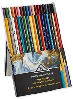 36pc Verithin Prismacolor Pencils