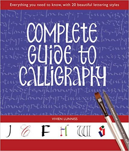 Complete Guide To Calligraphy Book
