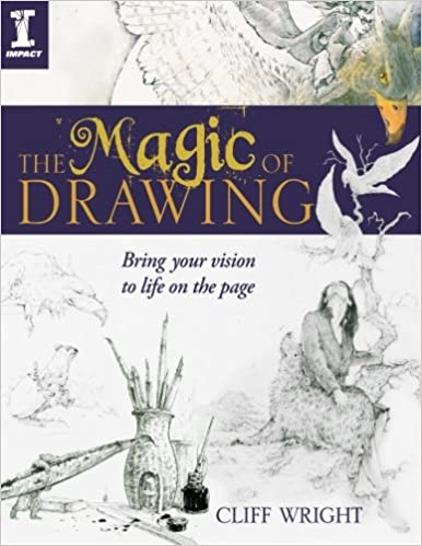 The Magic of Drawing Book by Cliff Wright
