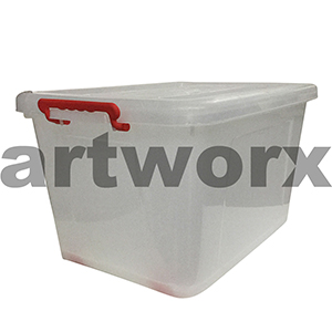 400x520mm 55L Roller Box Storage Container with Wheels
