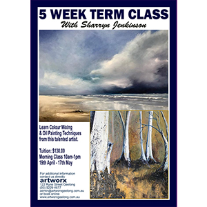 5 Week Term Oil Painting Classes