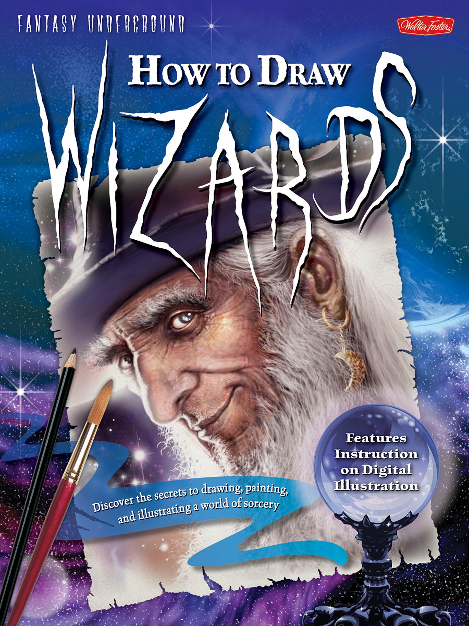 How To Draw Wizards Book