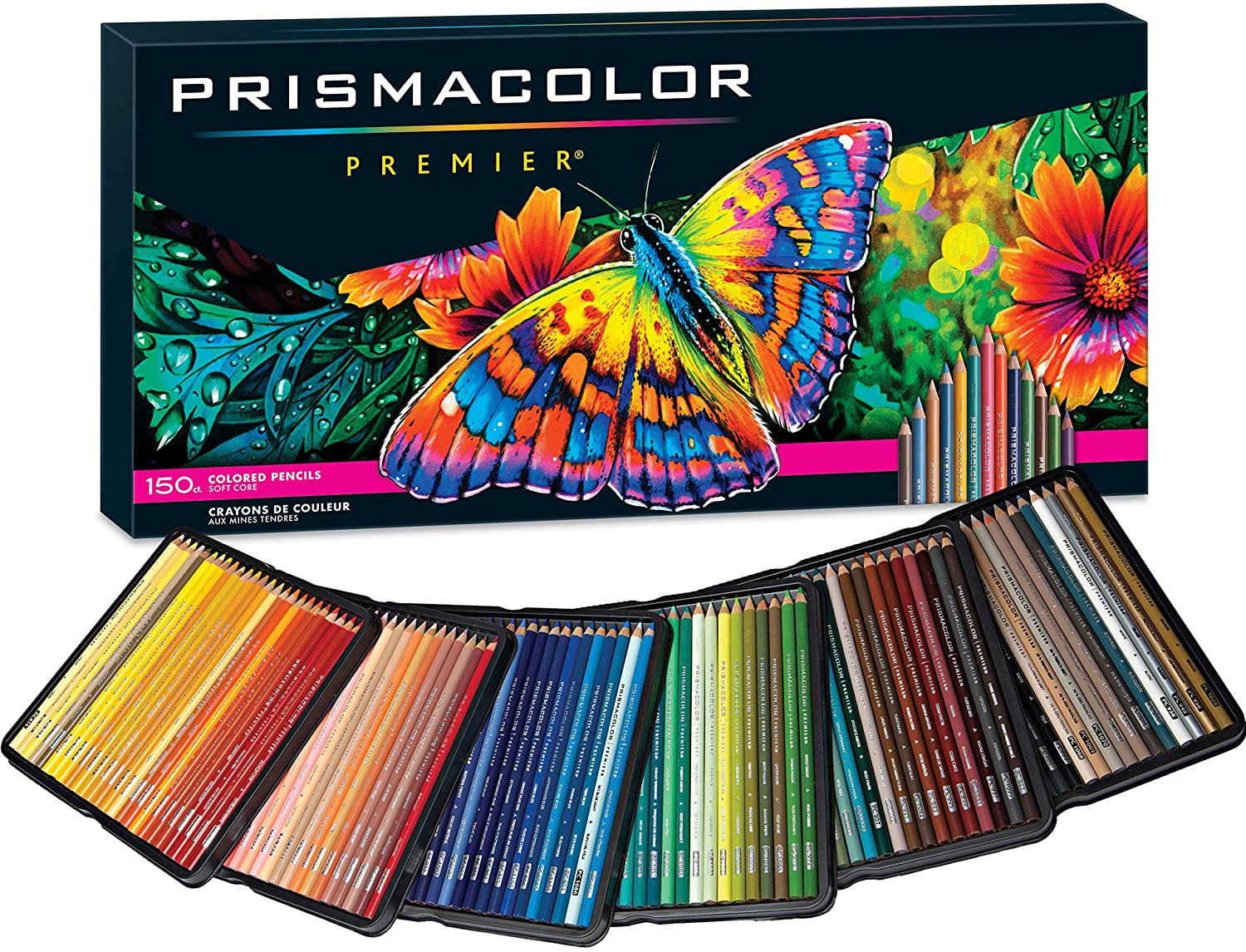150pc Premier Prismacolor Pencils