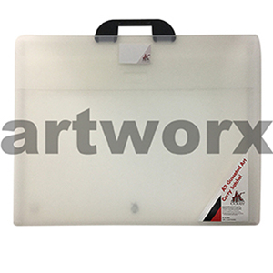 A2 Clear Colby Artist Portfolio Case