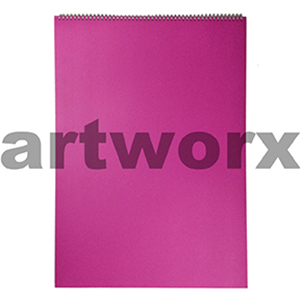135gsm A2 Landscape Pink Strawberry Visual Diary
