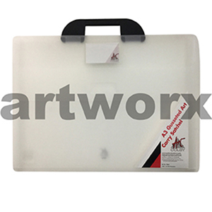 A3 Clear Colby Artist Portfolio Case