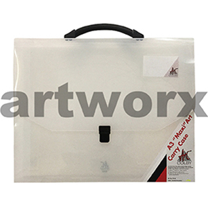 A3 Clear Colby Maxi Artist Portfolio Case