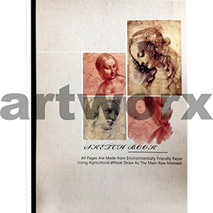 80 gsm A3 50 sheets Portrait Reno Art Sketch Book