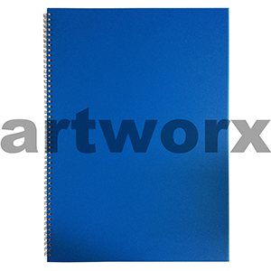 135gsm A3 Portrait Cobalt Blue Visual Diary