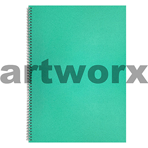 135gsm A3 Portrait Lime Green Visual Diaries