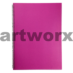 135gsm A3 Portrait Strawberry Pink Visual Diary