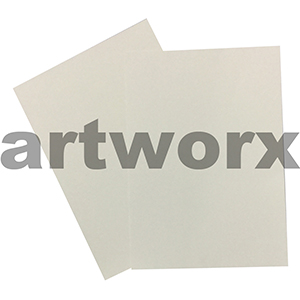 100gsm Ivory Linen Embossed (both sides) A4 Textured Paper