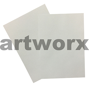 120gsm White Letterhead Linen Embossed A4 Textured Paper