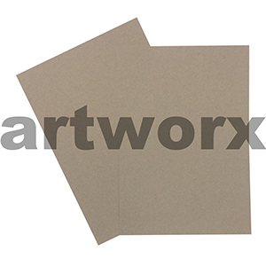 A4 216gsm Natural Brown Recycled Cardstock