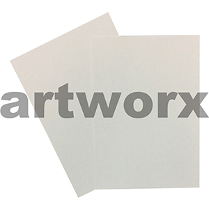 220gsm Pinstripe White Textured A4 Cardstock