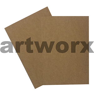 225gsm 760x1140mm 50 Sheets Recycled Brown Cardstock