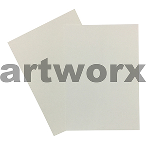 270gsm Leathergrain Natural White Textured A4 Cardstock