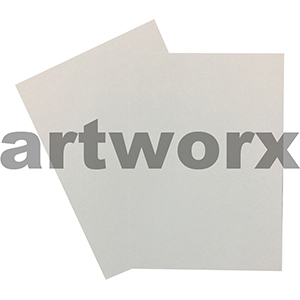 280gsm Linen Embossed both Sides White Textured A4 Cardstock