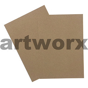 A4 283gsm Buffalo Kraft Natural Brown Cardstock
