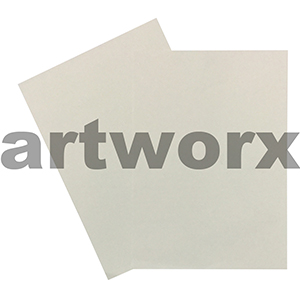 300gsm Linen Ivory Embossed Both Sides Textured A4 Cardstock