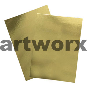 Gold 510x640mm Foil Card