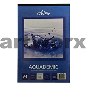 200gsm A4 15 Sheet Aquademic Watercolor Pad