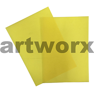Bright Yellow A4 Vellum Paper