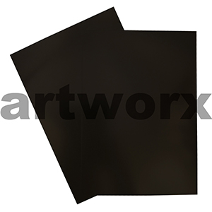 Black A4 Showcard 280gsm 20 Sheets