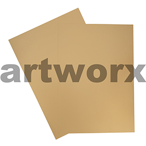 Gold A4 Showcard 280gsm