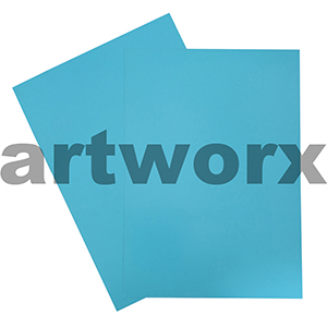 Light Blue A4 Showcard 280gsm