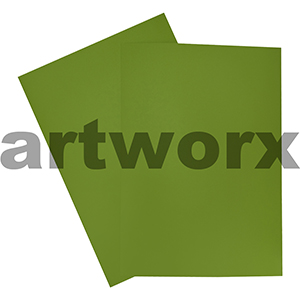Lime A4 Showcard 280gsm