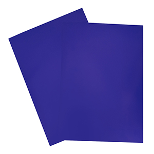 Royal Blue A4 Showcard 280gsm 20 Sheets