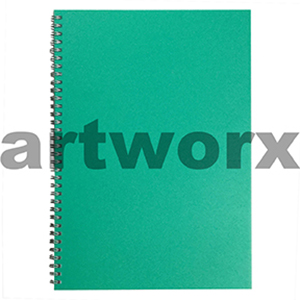 135gsm A4 Portrait Green Lime Visual Diary