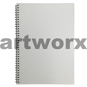 135gsm A4 Portrait White Visual Diary
