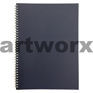 135gsm A4 Portrait Oxford Blue Visual Diary