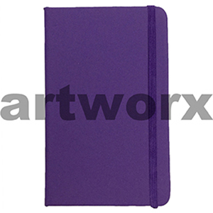 70gsm A6 96 Sheets Lined Purple Journal