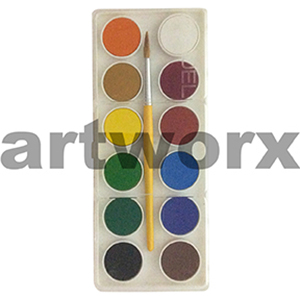 12pc Water Colour Set Adel