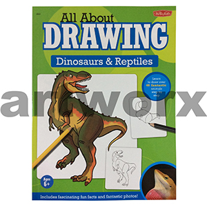 All About Drawing Dinosaurs & Reptiles Artbook