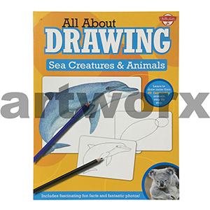 All About Drawing Sea Creatures & Animals Artbook