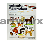 Animals in Watercolour Book by Sally Michel