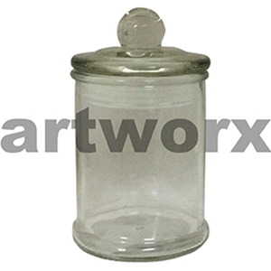 Mini Antique French Apothecary Jar