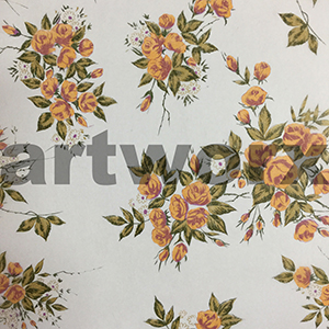 Apricot Cluster Rose Japanese Rice Paper 50x75cm