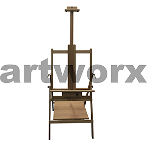 60x68x180cm Art Spectrum Studio Easel Large Oiled Beech Wood