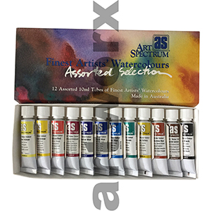 12x10ml Watercolour Tubes Art Spectrum