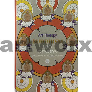 Art Therapy Buddhism Adult Colouring Book