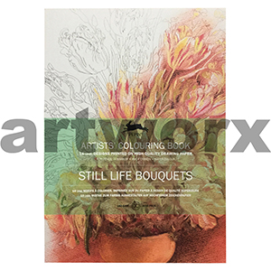 Still Life Bouquets Pepin Artist Coloring Book