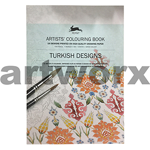 Turkish Designs Pepin Artist Colouring Book
