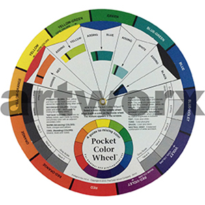 13cm Artist Colour Wheel